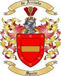 de Arriola Family Coat of Arms from Spain
