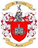 de Barrera Family Coat of Arms from Spain