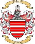 de Barri Family Crest from Ireland
