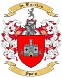 de Barrios Family Crest from Spain