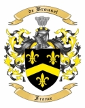 de Brouset Family Crest from France