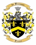 de Brousse Family Crest from France