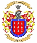 de Campos Family Crest from Spain