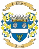 de Clauzele Family Coat of Arms from France1