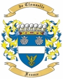 de Clauzelle Family Coat of Arms from France1