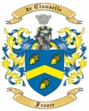 de Clauzelle Family Crest from France