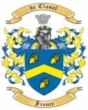 de Closel Family Crest from France