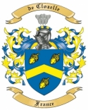 de Clozelle Family Coat of Arms from France