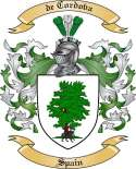 de Cordova Family Coat of Arms from Spain2