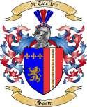 de Cuellar Family Crest from Spain