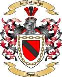 de Estuniga Family Coat of Arms from Spain