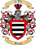 de Fin Family Coat of Arms from France2