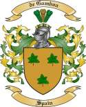 de Gamboa Family Coat of Arms from Spain