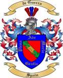 de Guerra Family Coat of Arms from Spain