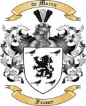 de Marca Family Coat of Arms from France3