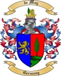 de May Family Coat of Arms from Germany