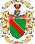 de Mendoza Family Coat of Arms from Spain