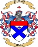 de Mufet Family Crest from Wales