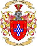 de Navarrete Family Coat of Arms from Spain