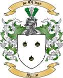 de Olivas Family Crest from Spain