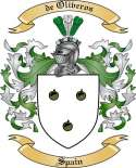 de Oliveros Family Coat of Arms from Spain