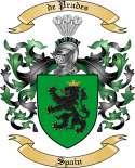 de Prades Family Crest from Spain