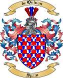 de Quinon Family Coat of Arms from Spain