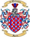 de Quinones Family Coat of Arms from Spain