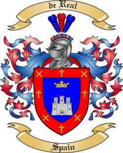 de Real Family Coat of Arms from Spain