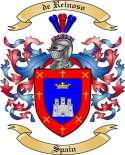 de Reinoso Family Coat of Arms from Spain