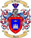 de Reyes Family Coat of Arms from Spain