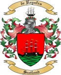 de Reynfru Family Coat of Arms from Scotland