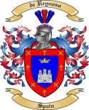 de Reynoso Family Crest from Spain
