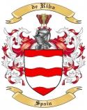 de Riba Family Coat of Arms from Spain