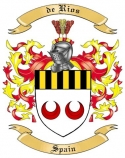 de Rios Family Coat of Arms from Spain2