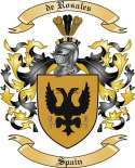 de Rosales Family Coat of Arms from Spain