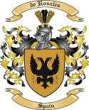 de Rosales Family Crest from Spain