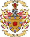 de Sole Family Coat of Arms from Spain