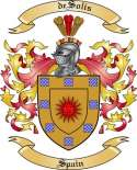 de Solis Family Coat of Arms from Spain