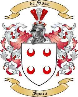 de Sosa Family Crest from Spain