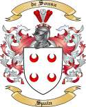 de Sousa Family Coat of Arms from Spain