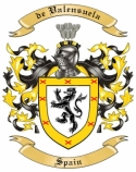 de Valensuela Family Crest from Spain