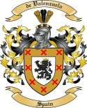 de Valenzuela Family Crest from Spain