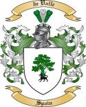 de Valle Family Crest from Spain