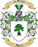 de Valles Family Crest from Spain