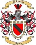 de Zuniga Family Crest from Spain