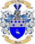 de la Garza Family Coat of Arms from Spain2