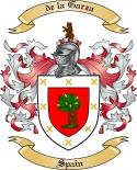de la Garza Family Crest from Spain3
