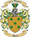 de la Higuera Family Crest from Spain