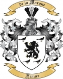 de la Marque Family Coat of Arms from France3